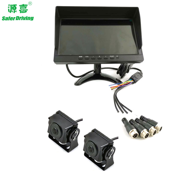 Saferdriving 9 inch AHD SYSTEM Quad Monitor - copy